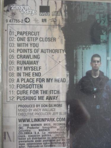 linkin park-hybrid theory-rock-heavy metal-cd