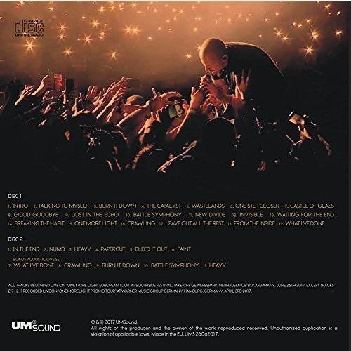 Linkin Park One More Light Live Cd Por Encargo 70