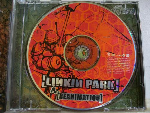 linkin park, reanimation, 2005 cd original raro