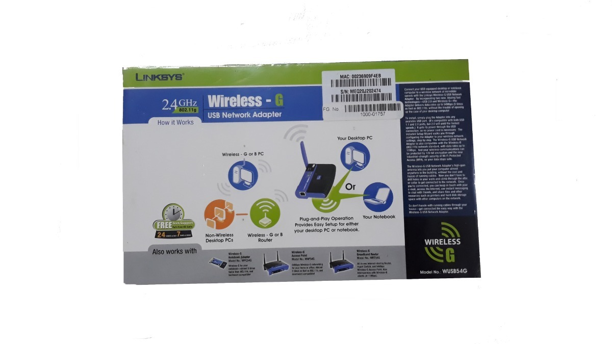 LINKSYS MODEL WUSB54G DRIVERS FOR MAC DOWNLOAD