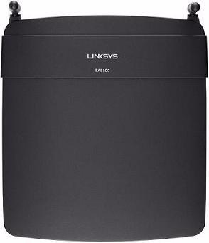 linksys ea6100 wi-fi dual-band+ router, smart wi-fi ac1200