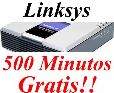 linksys pap2 / pap2t  libre, para minutos voip