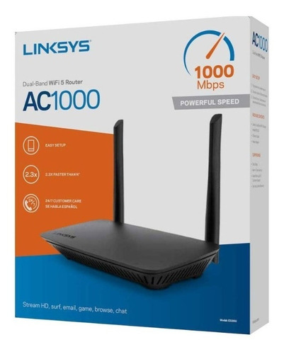 linksys wifi 5 router dual-band ac1000 inalambrico