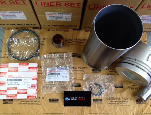 linner kit original isuzu motor npr 4bd1 - 4bd1t- 6bd1