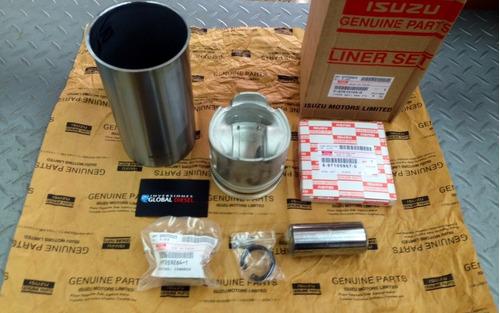 linner kit original nkr nhr 4jb1 isuzu repuesto motor anillo