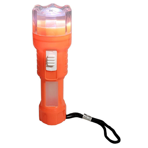 linterna 1 led con farol practica ideal camping . - el regal