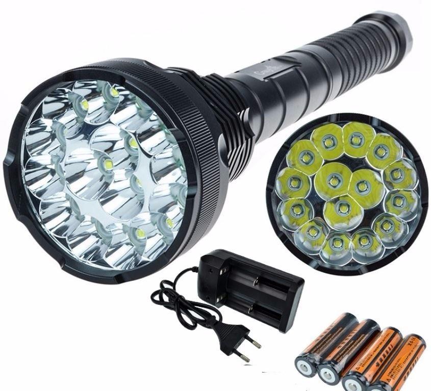 Resultado de imagen para linterna LED potente