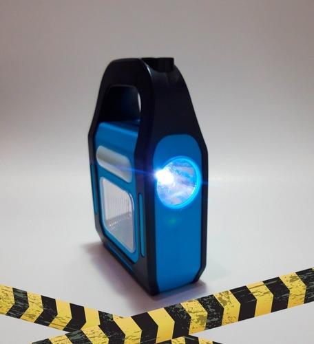 linterna 3 en 1¿carga usb¿batería aaa¿panel solar  q 80