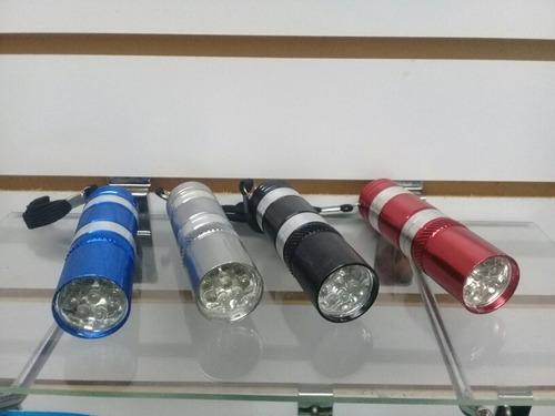 linterna 9 led  portatil de mano