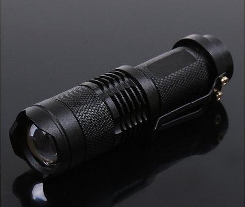 linterna aa reflector faro led cree tactica a bateria
