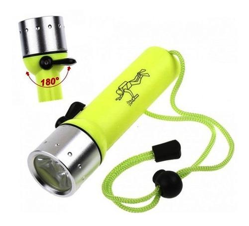 linterna acuática buceo mano sumergible potente rf 5108