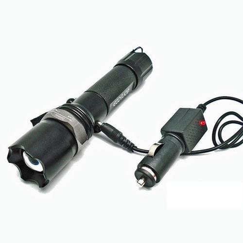 linterna alta potencia cree zoom 3.7v ad led sos resistente