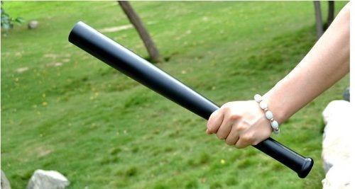 linterna bate de 60 cm. para auto defensa