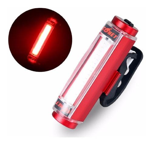 linterna bicicleta 100 lumens recargable cuerpo en aluminio