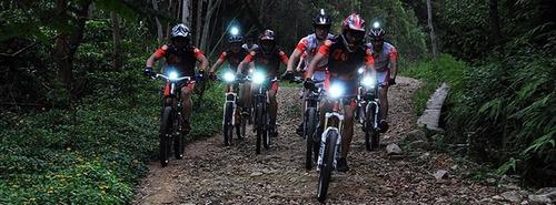 linterna bicicleta 7000 lúmen solarstorm - la mas potente