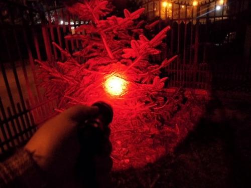 linterna c8 led rojo xml-t6
