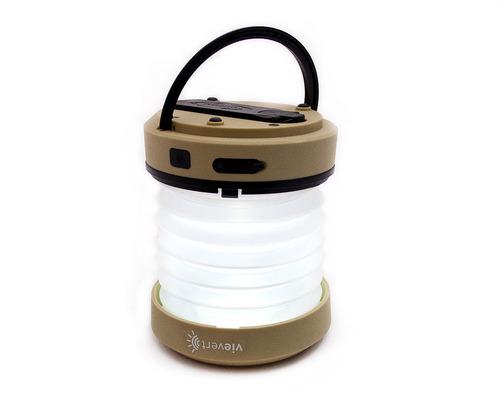 linterna con dinamo tipo acordeón marca vievert