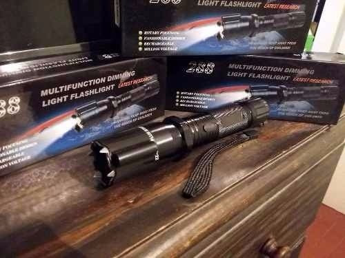linterna con picana y puntero laser recargable oferta!