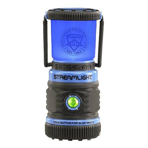 linterna de asedio streamlight, azul