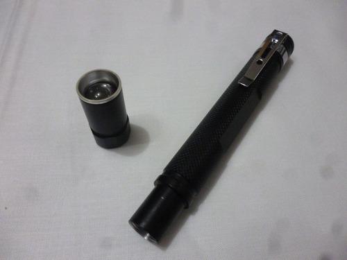 linterna de bolsillo led potente zoom ideal dentista etc