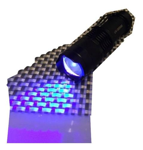 linterna de bolsillo ultravioleta luz uv