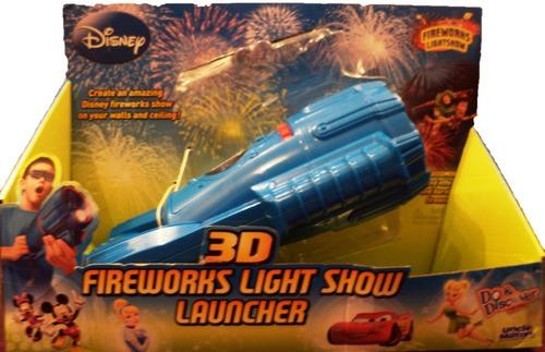 linterna fireworks disney 3d