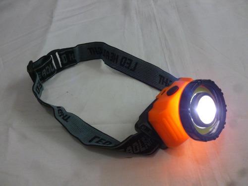 linterna frontal de cabeza ewtto 2 led 3 modos de luz