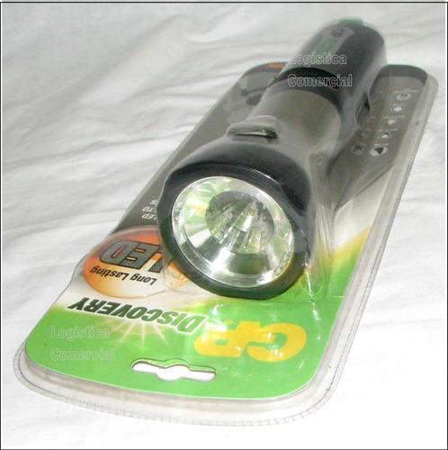 linterna gp discovery de led (56 lumens) antideslizante luz