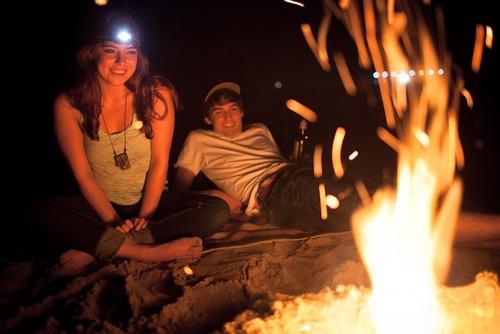 linterna lampara camping