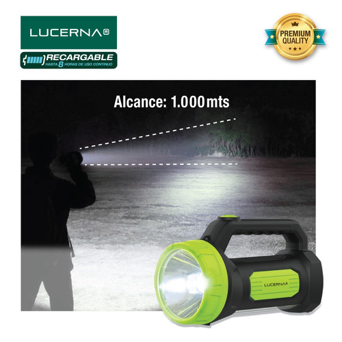 linterna-lámpara de led recargable lucerna