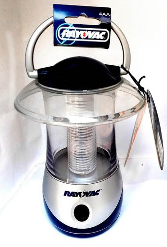 linterna lampara farol de mano acrilica rayovac 100%nuevas