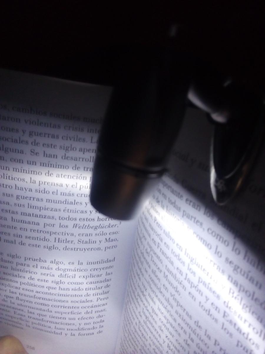 Linterna Novelas Portatil Universidad Lampara Lectura Libros cjLq4AS35R