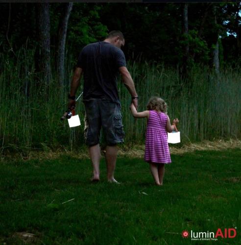 linterna - lampara solar inflable + ecologica - luminaid
