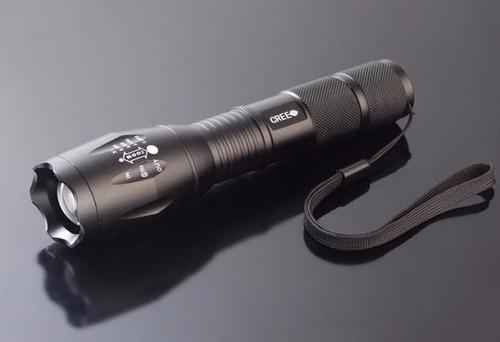 linterna led alta potencia 2000 lumen+pila recargable 18650