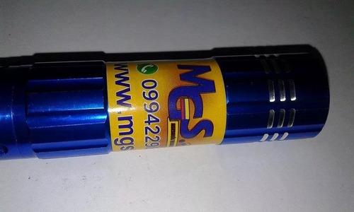 linterna led color azul marca light