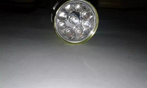 linterna led color verde marca light