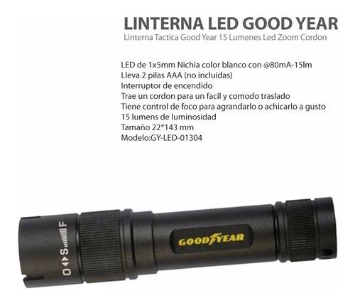 linterna led goodyear 15lumen muy potente gy1304 pintumm