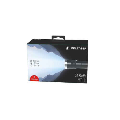 linterna led lenser mt 10 1000 lm recargable ipx4  tacticaº