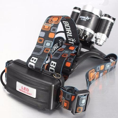 linterna led minera 3 canon con zoom inc iva y garantia