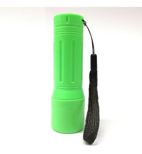 linterna led mini 12 cm potente 10 bombillos
