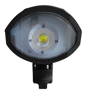 linterna led multifunción, 3 modos de luz, con bocina