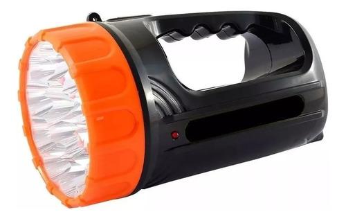 linterna  led recargable 15 led modelo 2315  luz blanca