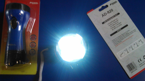 linterna led recargable advance 4 led