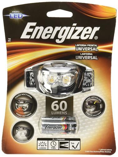 linterna manos libres 3 led energizer 60 lumens