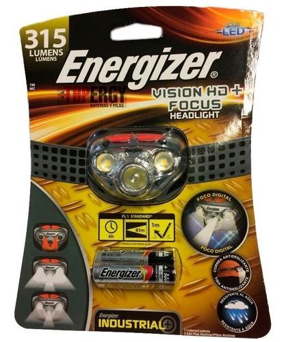 linterna manos libres vision hd+focus energizer 315 lumens