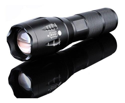 linterna militar t6 zoom ultrafire 15000lm estuche la+potent