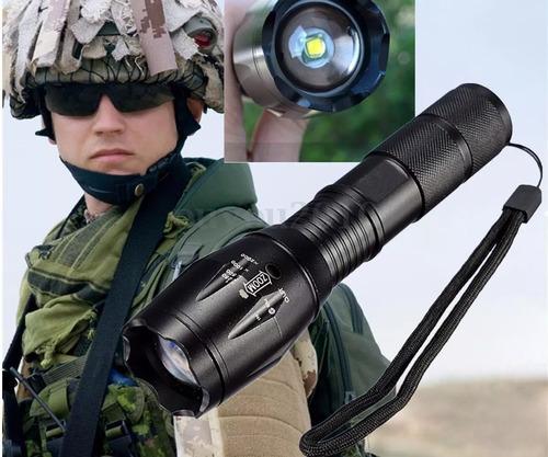 linterna militar xml t6 ultrafire 15000lm estuche la+potente