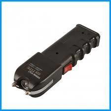 linterna picana táctica pistola con choque eléctrico