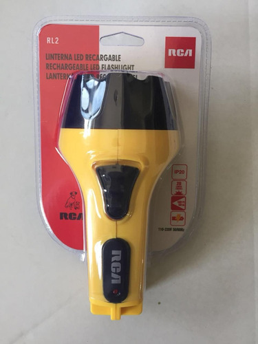 linterna racargable led portatil marca rca