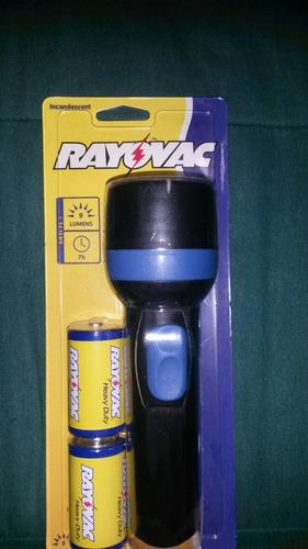 linterna rayovac incandescent